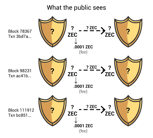 What the public sees