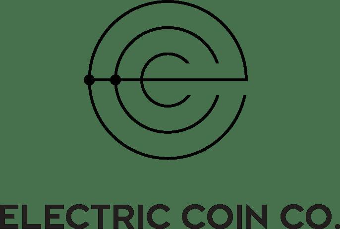 Black vertical Electric Coin Co. logo