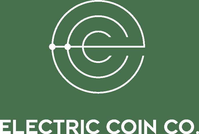 White vertical Zcash logo