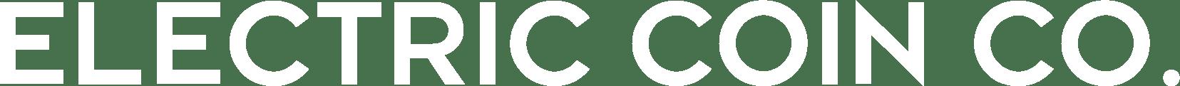 White Electric Coin Co. Horizontal Wordmark